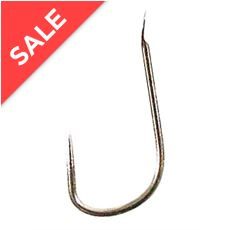 B611 Spade Barbless Hooks, Size 18, Pack of 10