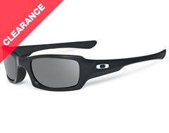 Fives Squared Sunglasses (Polished Black/Grey)