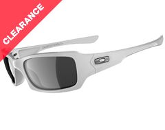 Fives Squared Sunglasses (Polished White/Black Iridium)
