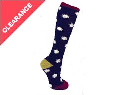 Candie Ladies Super Soft Fleece Socks