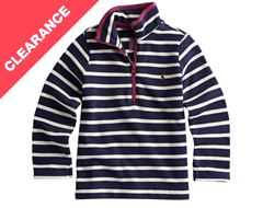 Junior Fairdale Girls Half Zip Sweatshirt