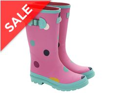Girls' Printed Wellies
