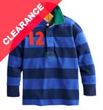 Junior Woodrow Boys' Long Sleeve Rugby Shirt