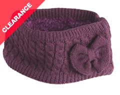 Knitted Ladies Headband