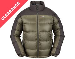 Arete Men's Hydrophobic Down Jacket