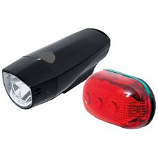 RX7.0S 1 Led Front & 5 Led Rear Light Set