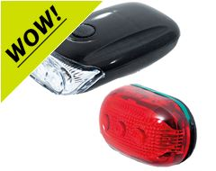 RX9.0S 3 Led Front & 5 Led Rear Light Set