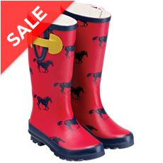 Wharfedale Printed Wellingtons