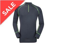 Mountain XT Series Merino Elite Men's Zip Top Baselayer