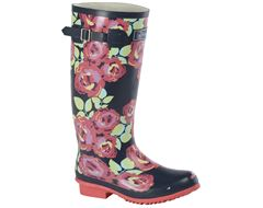 Floral Women's Wellies