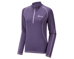 Carve Women's Zip Neck Baselayer