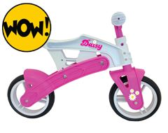 Daisy Girl's Adjustable Balance Bike