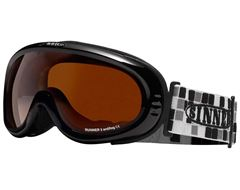 Runner II Goggles (Shiny Black/Double Orange lens)