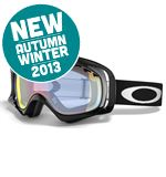 Crowbar Snow Goggles (Jet Black/Fire Iridium)