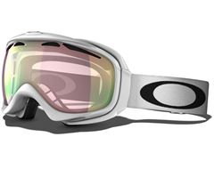 Elevate Snow Goggles (Polished White/VR50 Pink Iridium)