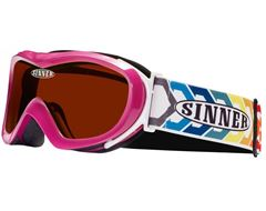 Chameleon Kids' Goggles (Pink/Double Orange)
