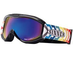 Toxic S Kids' Snow Goggles (Black/Blue Revo)