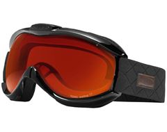 Toxic Snow Goggles (Black/Double Red Revo)