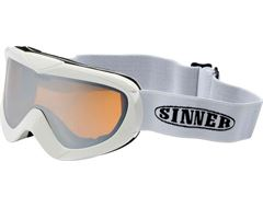 Task Goggles (Shiny White/Double Orange)