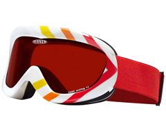 Task Goggles (White/Red Revo)
