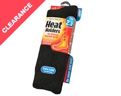 Men's Long Heat Holder Socks