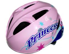 Princess Girls' Cycling Helmet (Small, 48-52cm)
