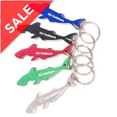 Shark Bottle Opener Keyring