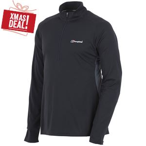 Men's Tech Tee LS Zip Neck
