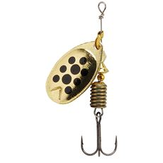 Fast Attack Lure 10g (Gold/Black Dots)