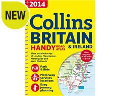 2014 Great Britain Handy Road Atlas(Spiral bound)