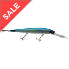 Killer Optic Wobbler Float (13cm, W/Blue)