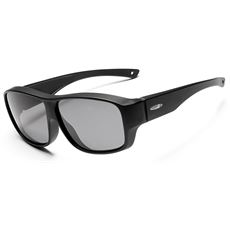 Sunrise 'OTG' Sunglasses (Matte Black/Sintec Smoke)