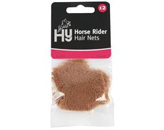 Horse Rider Hair Net (Light Brown) Standard Weight