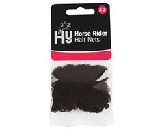 Horse Rider Hair Net (Dark Brown) Standard Weight