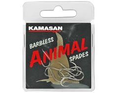 Animal Spades Hooks (Heavy, Barbless) Size 18