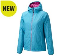 Compresslite Packaway Hooded Women's Insulated Jacket
