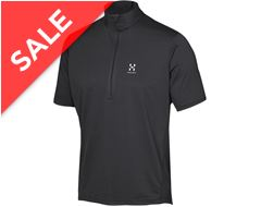 Ridge Short Sleeved Men's Zip Tee
