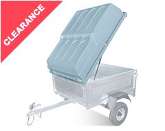 Lockable ABS Lid for Trailer XL