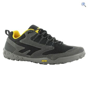 Hi-Tec Figaro Men's Walking Shoe - Size: 10 - Colour: Charcoal-Black
