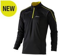 Long Sleeve Zip-Up Running Top Men's