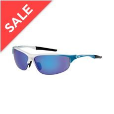 Blade Sunglasses (White/Blue)