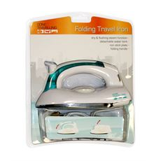 Folding Travel Iron
