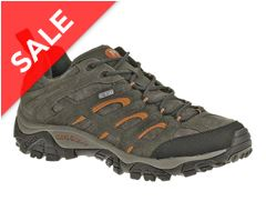 Moab Leather Walking Shoe