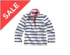 Jnr Fairdale Girl's 1/2 Zip Sweatshirt
