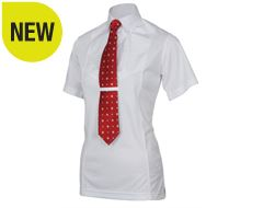 Maids Short Sleeve Tie Shirt