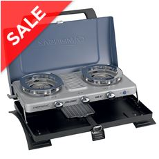 Xcelerate™ 400ST Double Burner Stove and Toaster