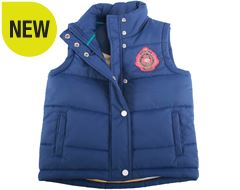 All Star Girl's Padded Gilet