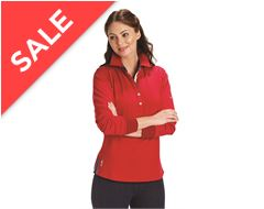 Baunton Ladies Long Sleeve Polo Top