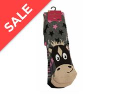 2PK Half Terry Knee High Socks