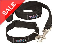 Dog Collar and Lead Set